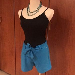 Sea blue shorts